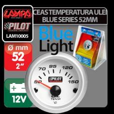 Ceas temperatura ulei Blue series 52 mm Profesional Brand - Ceas Auto