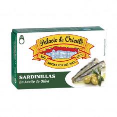 PdO Conserva sardine mici ulei masline 81 gr - Conserve