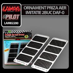 Ornament priza aer imitatie DAF-0 Profesional Brand - Priza aer capota