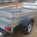 Remorci/Remorca mono ax 750 kg 2 m x 1.12 m– *in rate *pe stoc* - Utilitare auto