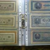 Set de 10 folii pentru bancnote