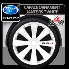 Capace ornament jante RST white 4buc - 16' Profesional Brand - Capace Roti, R 16