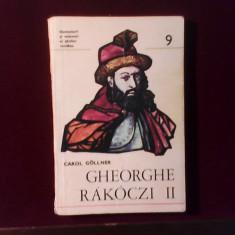 Carol Gollner Gheorghe Rakoczi II, ed. princeps - Istorie