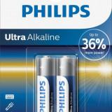 Baterii Philips Ultra Alkaline AA, 2 buc