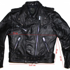 Geaca moto piele Polo, dama, marimea 42(L) - Imbracaminte moto, Geci