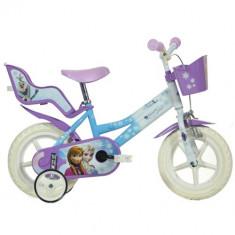 Bicicleta Frozen 12 Inch - Bicicleta copii Dino Bikes