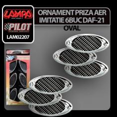 Ornament priza aer imitatie DAF-21 Oval Profesional Brand - Priza aer capota