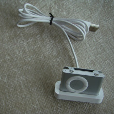 APPLE iPod Shuffle 2nd Gen (Silver) - 1 GB Capacitate, 2nd generation, Argintiu