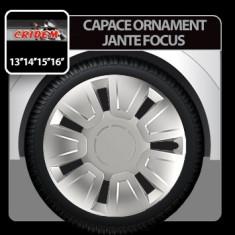 Capace ornament jante Focus 4buc - Argintiu - 15' Profesional Brand - Capace Roti, R 15