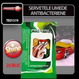 Servetele umede antibacteriene Prevent 25 buc Profesional Brand
