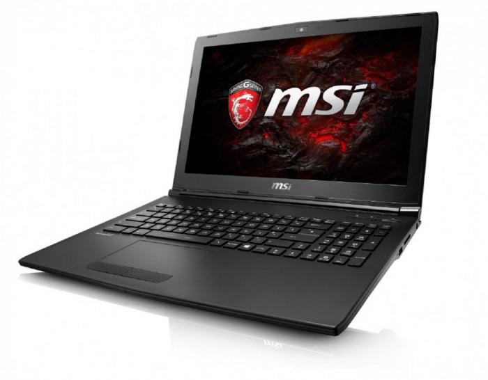 "Laptop MSI GP62M 7RDX Leopard 15.6"" FHD (1920x1080) Intel Core I7-7700HQ (2.8Ghz, up to foto mare"