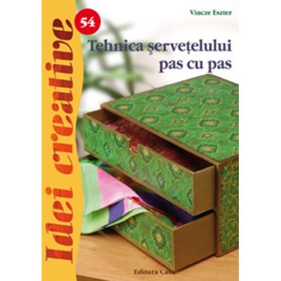 Tehnica Servetelului Pas cu Pas 54 - Idei Creative foto