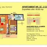 Apartament 2 camere Brasov, zona Tractorul - Apartament de vanzare, 50 mp, Numar camere: 2, An constructie: 2018, Parter