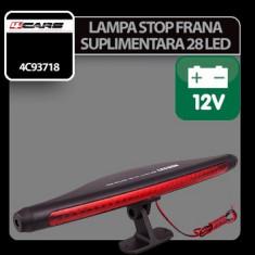 Lampa stop frana suplimentara cu 28 LED 12V 4Cars Profesional Brand - Stopuri tuning