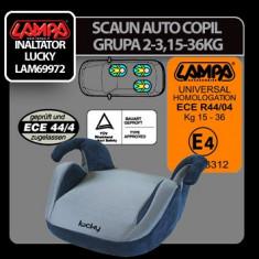 Scaun auto copil grupa 2-3 Lucky Profesional Brand - Inaltator auto