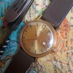 Ceas rusesc de colecție WOSTOK cal. 2605, 17 jewels, placat cu aur - Ceas de mana