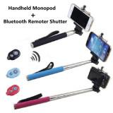 Selfie Stick-Monopod Bluetooth si Wireless Ideal Gift