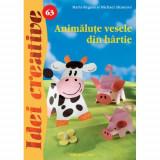 Animalute Vesele din Hartie 63 - Idei Creative - Carte de colorat
