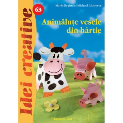 Animalute Vesele din Hartie 63 - Idei Creative foto