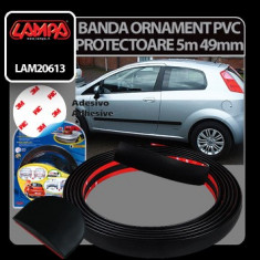 Banda ornament protectoare PVC 5 m - 49 mm Profesional Brand - Ornament Auto