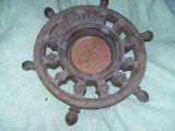 Timona veche din lemn,masiva,de colectie,timona marinareasca,T. GRATUIT