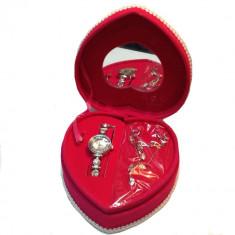 Set cadou dama Pink Heart Ideal Gift, Cadouri pentru femei