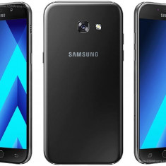Samsung Galaxy A5 A520F model 2017 black, noi sigilat, cutie!PRET:1280lei - Telefon Samsung, Negru, Neblocat, Single SIM