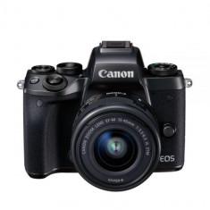 Camera foto Canon EOS M5 KIT EF-M15-45 IS STM, 24.2 MP, DIGIC 7, ecran - Inel adaptor obiectiv foto