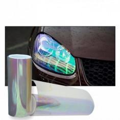 Folie Auto Faruri / Stopuri Transparent Cameleon 60x60 CM