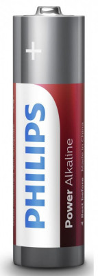 Philips Power Alkaline AA 4-blister foto
