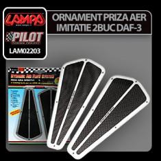 Ornament priza aer imitatie DAF-3 Profesional Brand - Priza aer capota