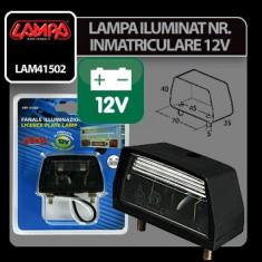 Lampa iluminat numar inmatriculare 12V Lampa Profesional Brand - Dezmembrari Mercedes-Benz