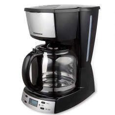 Cafetiera digitala Heinner HCM-D918X, display LCD, putere: 900W, capacitate: 1.8 L, control electronic, timer