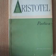 ARISTOTEL- POETICA - Filosofie
