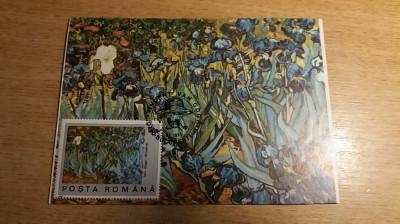 MXM - ARTA - PICTURA - VINCENT VAN GOGH - BUCURESTI 1991 foto
