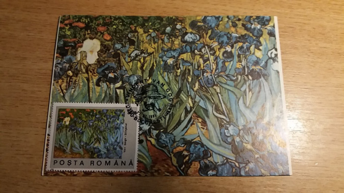 MXM - ARTA - PICTURA - VINCENT VAN GOGH - BUCURESTI 1991