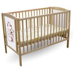 Patut 2 Ursuleti - Patut lemn pentru bebelusi First Smile