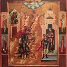 TAIEREA CAPULUI SFANTULUI IOAN INAINTEMERGATORUL, ICOANA RUSIA CCA. 1800 - Pictor roman