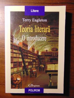 Teoria literara. O introducere - Terry Eagleton (Polirom, 2008) foto