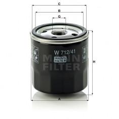 FILTRU ULEI W712/41 MANN FILTER
