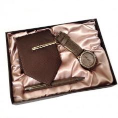 Set cadou pentru barbati Classic Brown Ideal Gift, Cadouri pentru barbati