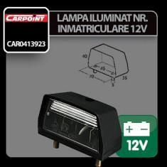 Lampa iluminat numar inmatriculare 12V Carpoint Profesional Brand - Dezmembrari Mercedes-Benz