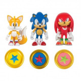 Sonic Boom, Set 3 minifigurine cu monede 8 cm