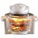 Cuptor FlavorWave Turbo Oven cu convectie si halogen Practic HomeWork - Tigaie