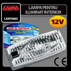 Lampa pentru iluminat interior 12V Profesional Brand - Lumini interior auto