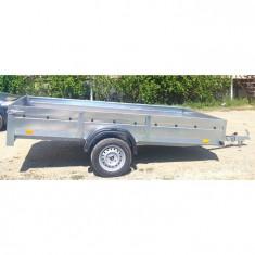 PROMOTIE Remorca auto 750 kg mono ax 300 x 160 x30 *pe stoc* in rate*