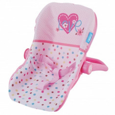 Scaun Auto Papusi Junior Love Heart Hauck