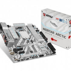 Placa de baza MSI Socket LGA1151, H270M MORTAR ARCTIC, Intel H270 Chipset, 4*DDR4 2400/2133