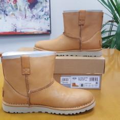 UGG Classic Mini Boots – piele, originale - Cizma dama Ugg, Culoare: Maro, Marime: 39