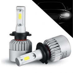 Kit 2 LED-uri Auto H7 72w/8000 lumeni 6500k S2